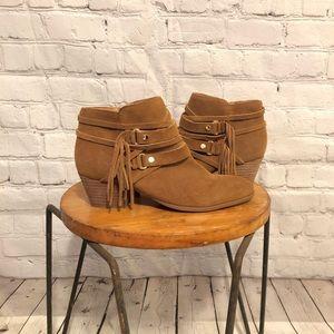 NWOT $129 Franco Sarto Gonzalez Booties - Size 7.5